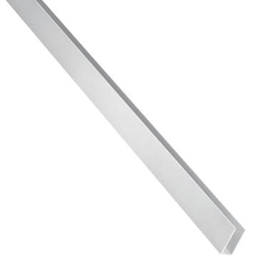 Profilo u STANDERS in alluminio 2.6 m x 1.5 cm grigio