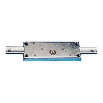 Serratura per porta garage SERRATURA PER SERRANDA CIL. TONDO L 190 x H  710 mm interasse 150 mm