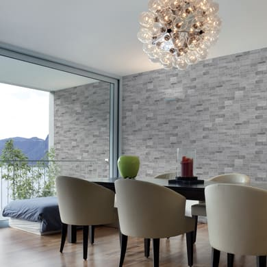 Rivestimento decorativo Mix bianco/grigio