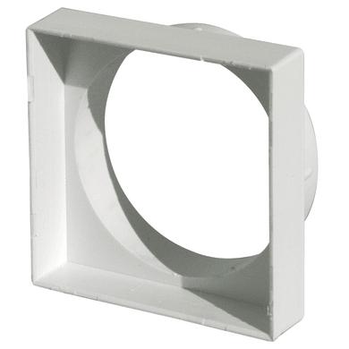 Griglia d'aerazione per camino L 10.1 x H 10.1 cm Ø 100 mm