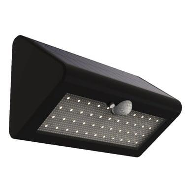 Applique a soffitto Solare 500lm con sensore di movimento LED integrato in plastica nero 5.5W 500LM IP44 YANTEC