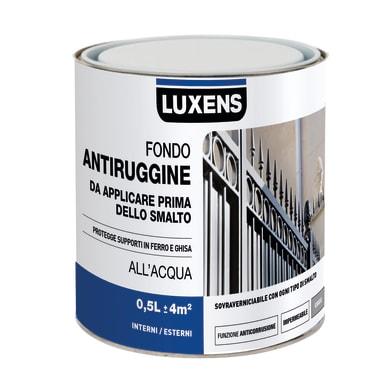 Primer LUXENS base acqua interno / esterno antiruggine 0.5 L