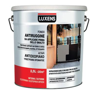 Primer LUXENS base acqua interno / esterno antiruggine 2.5 L
