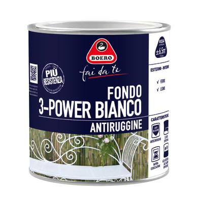 Primer BOERO base solvente interno / esterno antiruggine 3-Power 0.5 L