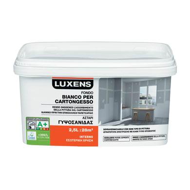 Primer precolorazione LUXENS per cartongesso bianco 2.5 L