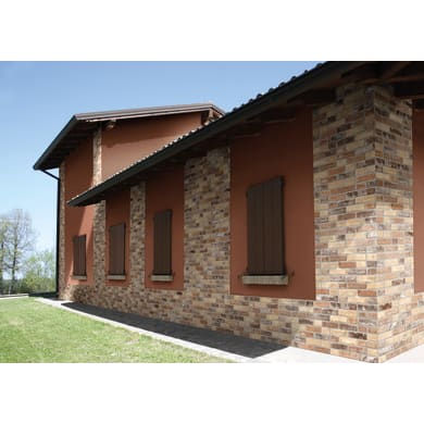 Rivestimento Brick mix 62 x 31 cm sp. 9 mm beige