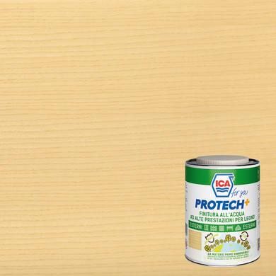 Vernice per legno da esterno liquido ICA FOR YOU PROTECH+ 2.5 L trasparente semi brillante