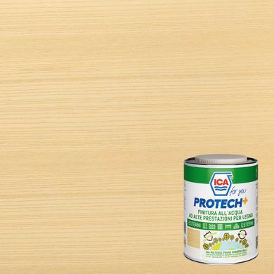 Vernice per legno da esterno liquido ICA FOR YOU PROTECH+ 2.5 L trasparente opaco