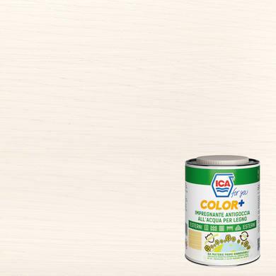Impregnante a base acqua ICA FOR YOU Color+ bianco 2.5 L