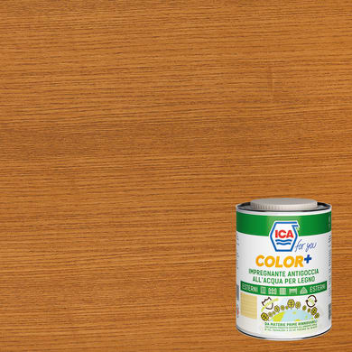 Impregnante a base acqua ICA FOR YOU Color+ mogano 2.5 L