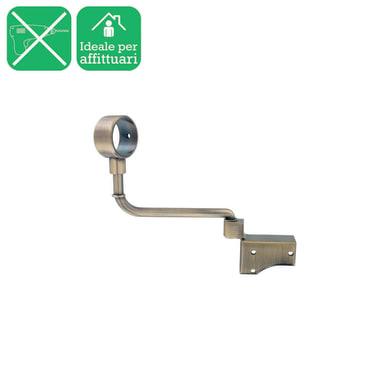 singolo chiuso Ø28mm in acciaio oro opaco17 cm