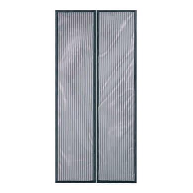 Tenda per porta TEZA100220NER nero 100x220 cm