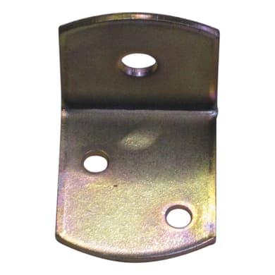 Piastra angolare STANDERS in acciaio zincato L 36 x Sp 2 x H 30 mm