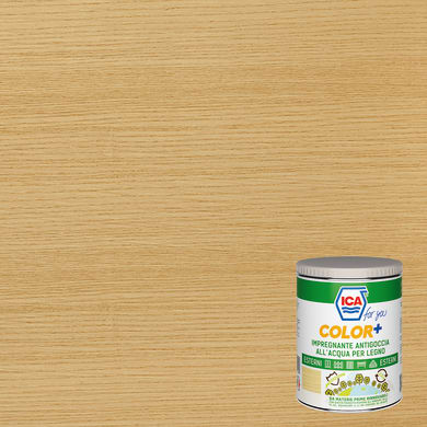 Impregnante a base acqua ICA FOR YOU Color+ rovere 0.75 L