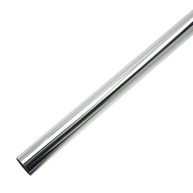 Bastone per tenda Stelvio in metallo Ø16mm grigio lucido 200 cm