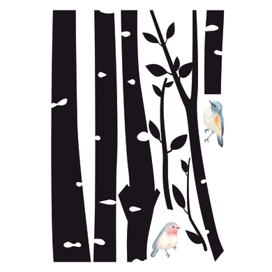 Sticker birds 6x73 cm