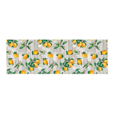 Tovaglia Cerata limoni gialli 120x160 cm