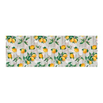Tovaglia Cerata limoni gialli 140x140 cm