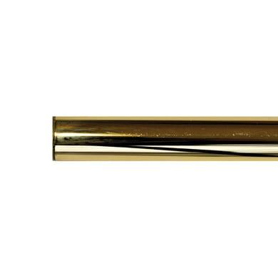 Bastone per tenda Volga in metallo Ø 20 mm ottone lucido 180 cm
