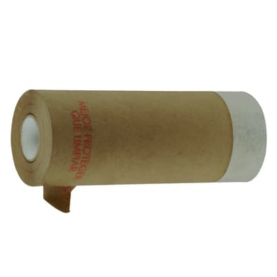 Carta protettiva con nastro NESPOLI adesivo 20 X 0.45 m marrone