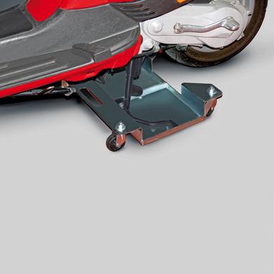 Carrello rigido Sposta moto in acciaio portata 200 kg