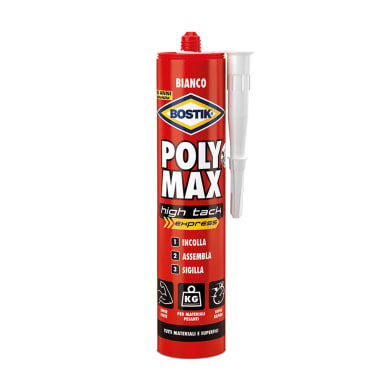 Colla Poly Max High Tack Express BOSTIK bianco 425