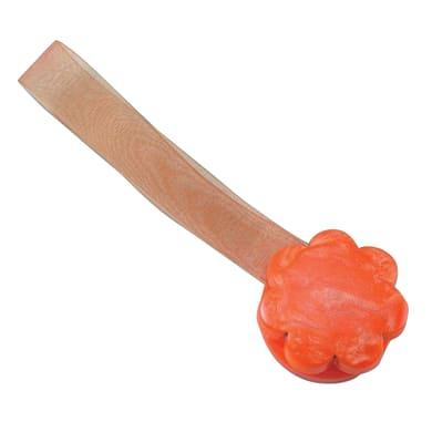 Calamita fiore striato arancione