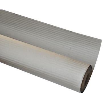 Cartone di protezione dalla pittura ondulato 45 X 1 m grigio