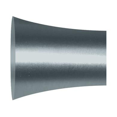 Finale per bastone Ø20mm Danau pomolo in metallo cromo INSPIRE Set di 2 pezzi