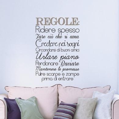 Sticker Regole L 47.5x70 cm