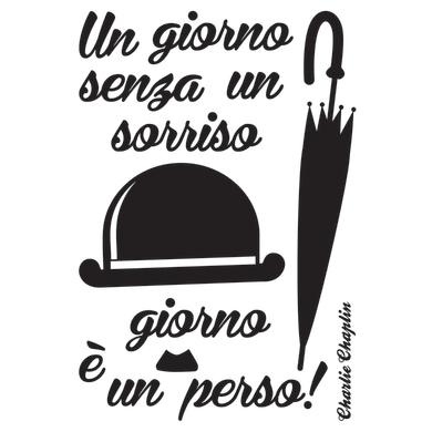 Sticker Chaplin 47.5x70 cm