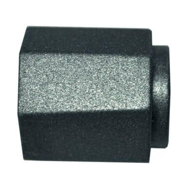 Bastone per tenda Meteorite in metallo Ø20mm grigio opaco 200 cm INSPIRE
