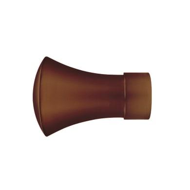 Finale per bastone Ø25mm Loft cilindro in metallo laccato