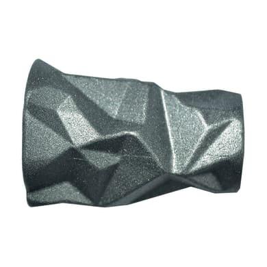 Finale per bastone Ø20mm Meteorite pomolo in metallo verniciato INSPIRE