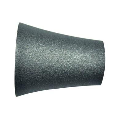 Finale per bastone Ø20mm Meteorite cono in metallo verniciato INSPIRE