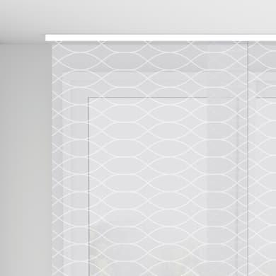 Pannello giapponese INSPIRE resinato Onde bianco 60x300 cm