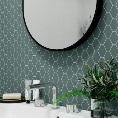 Mosaico Flacke Green Mat H 27.9 x L 27.9 cm verde