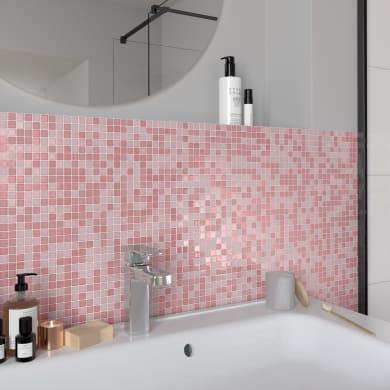 Mosaico Candy Mix Pink H 30 x L 30 cm multicolore