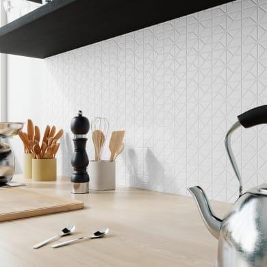 Mosaico Sekdem White H 30 x L 30 cm bianco