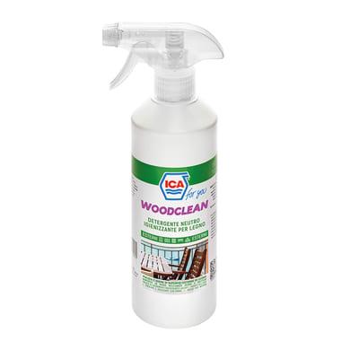 Detergente e sgrassatore ICA FOR YOU WOODCLEAN liquido 0.5