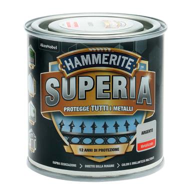 Smalto  antiruggine HAMMERITE Hammerite Superia argento 0.25 L