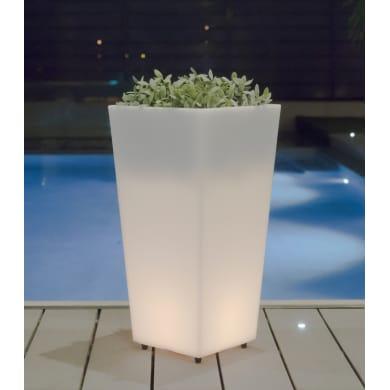 Lampada da esterno Melisa H 90 cm, luce bianco freddo , E27 7W 600LM IP65 NEWGARDEN