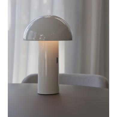 Lampada da esterno Enoki bianco H 26.5 cm,in alluminio, luce bianco caldo , LED integrato 7W 170LM IP44 NEWGARDEN