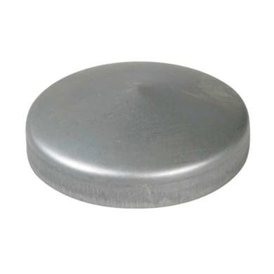 Copri pilastro quadro in acciaio x H 4.8 cm