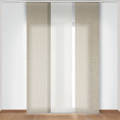 Pannello giapponese INSPIRE 100% Lino beige 60x300 cm