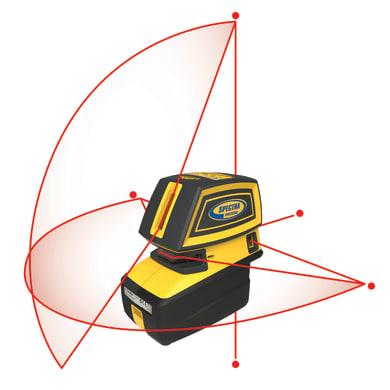 Livella laser SPEKTRA LT 52 rosso