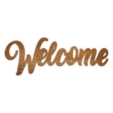 Fregio Welcome marrone 60 cm x 0.2 m