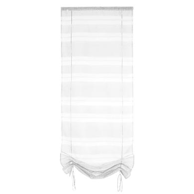 Tendina vetro Tendaggio ecru passanti nascosti 60 x 200 cm