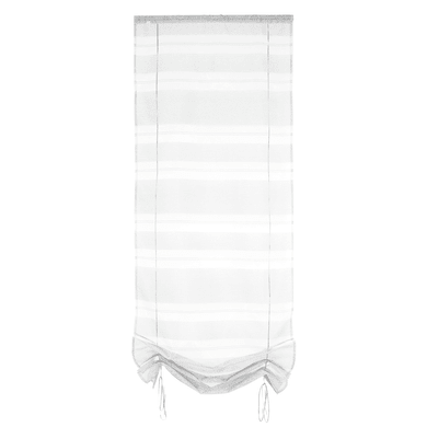 Tendina vetro Tendaggio grigio passanti nascosti 45 x 200 cm
