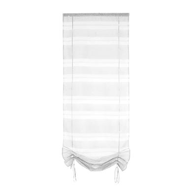 Tendina vetro Belladone  grigio passanti nascosti 60 x 200 cm